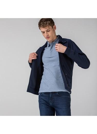 Lacoste Erkek Fermuarlı Sweatshirt SH1666.HDE Lacivert
